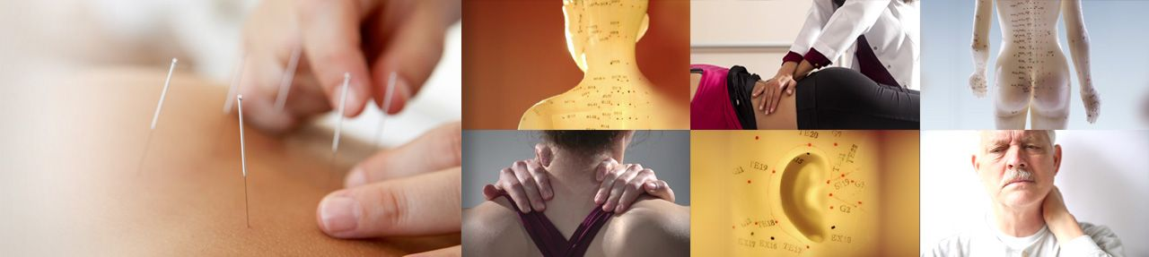 Various images from complementary medicine patient education videos