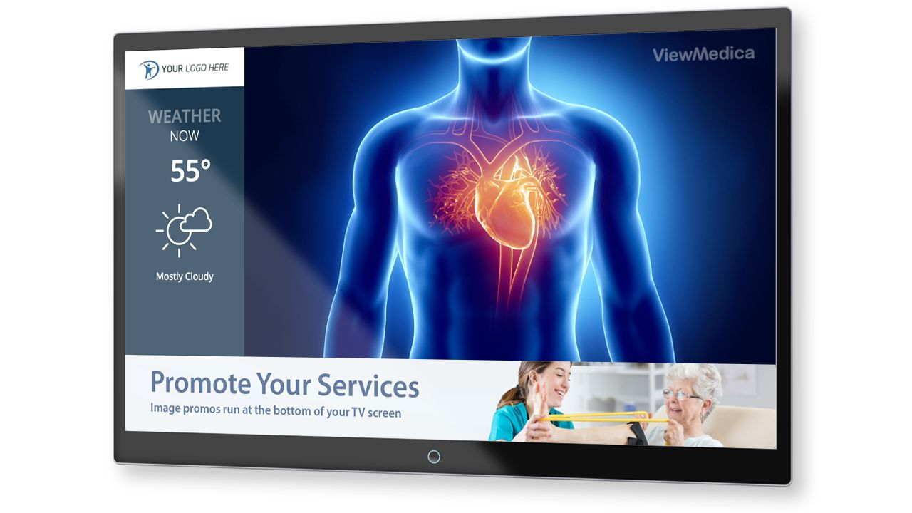 ViewMedica VMcast Waiting Room TV