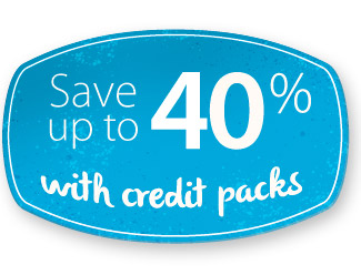 Save with Credit Packs