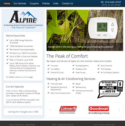 Alpine Heating & Air Conditioning